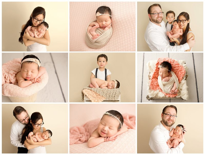 custom newborn photography session