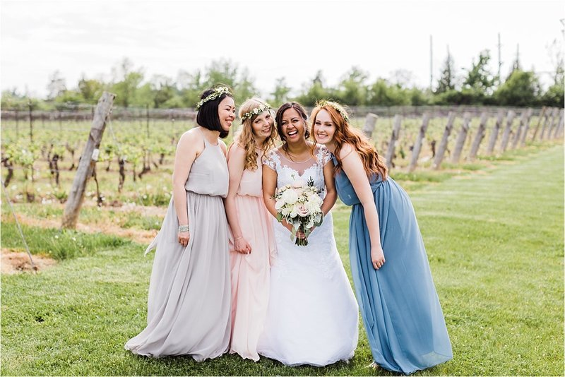 Cave Spring Vineyard Wedding Venue in Jordan Ontario by Dylan and Sandra Photography