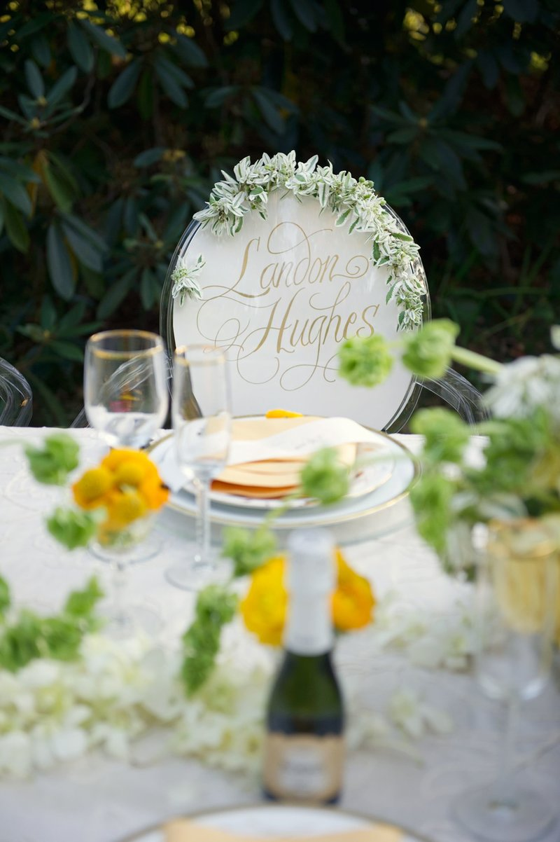 Classic spring wedding inspired by Jackie O at The Bee & Thistle Inn