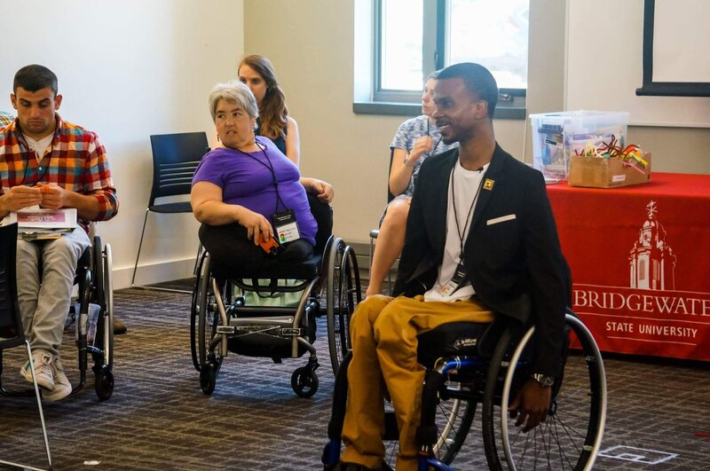 Ray Grand is a disability advocate and is the voice for those living with disabilities. He strives to bring the disability community together.