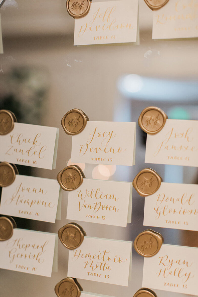 pirouettepaper.com | Wedding Stationery, Signage and Invitations | Pirouette Paper Company | Escort Cards 00