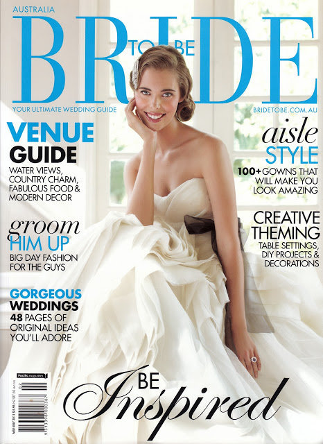 Bride to Be Magazine cover