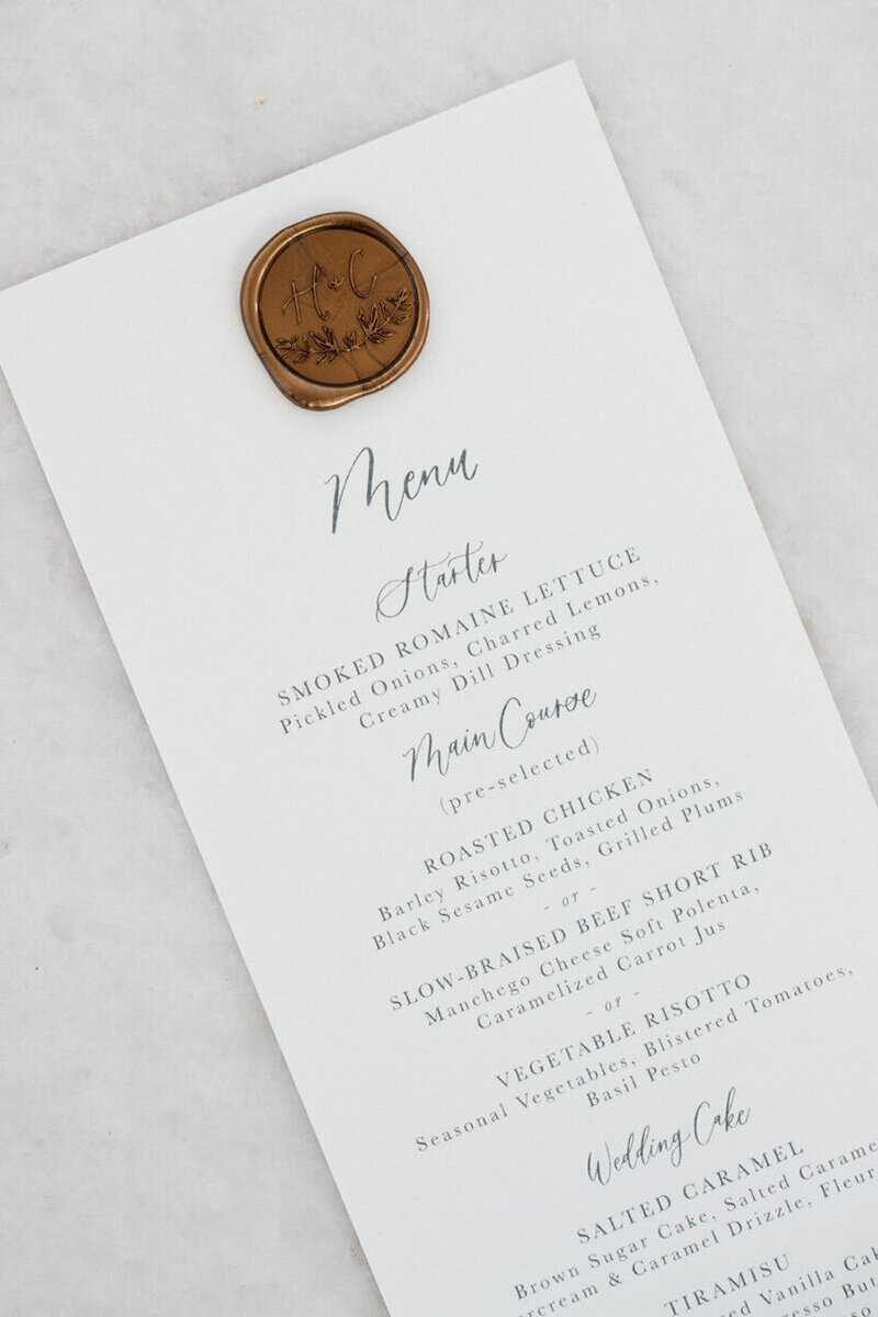 pirouettepaper.com | Wedding Stationery, Signage and Invitations | Pirouette Paper Company | Menus + Programs 20