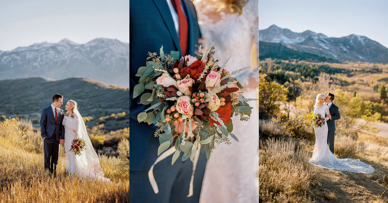 Alyssa & Jake, Snowbasin Wedding, Morgan Utah