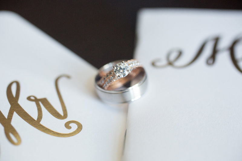 Wedding rings for New England Couples
