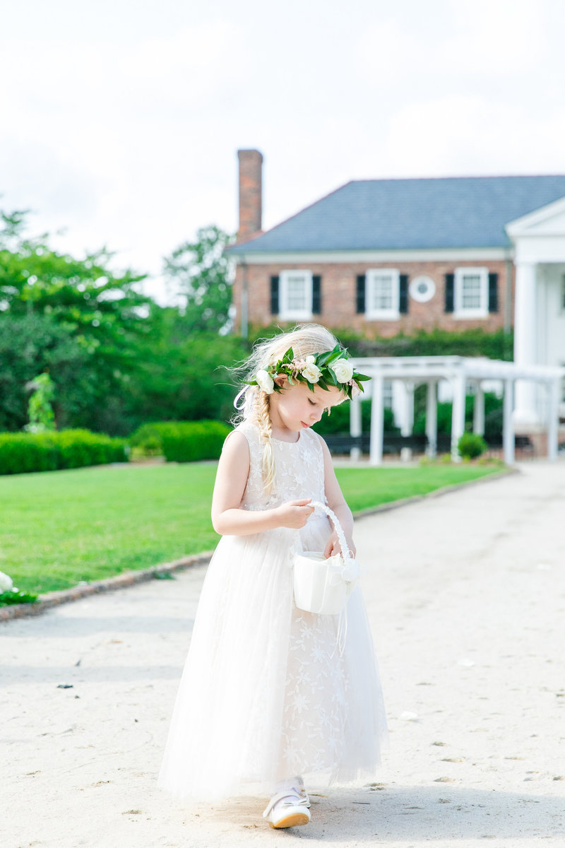 boone hall wedding photography