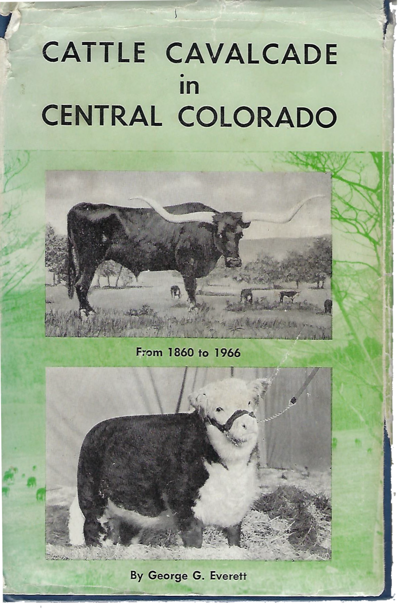 Cattle Cavalcade of Central Colorado_Scanned Book Cover