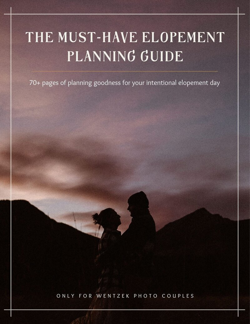 Leave No Trace Guide for Eloping Couples