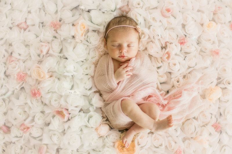 Los angeles newborn photographer christine sara dickerson baby
