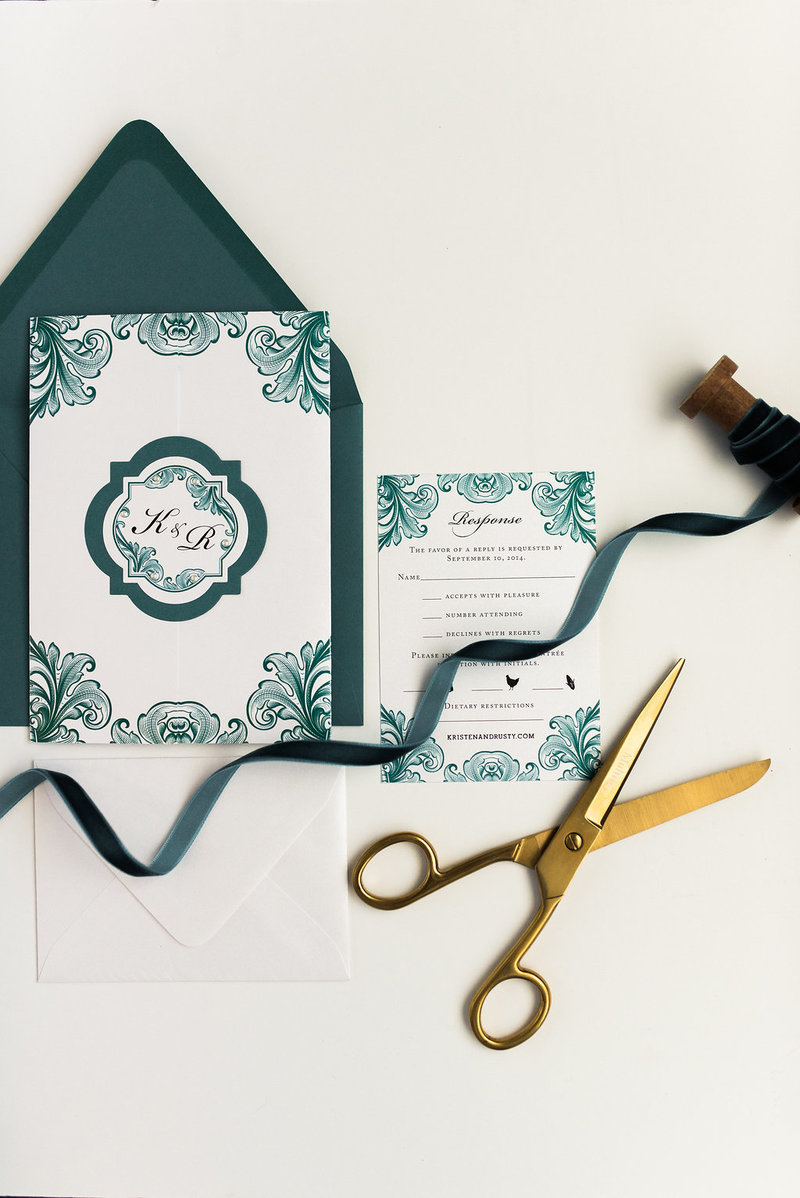 Hello Invite Design Studio - Cincinnati, Ohio Wedding Stationery Designer - Stationery Design, Stationery Designs - Photo - 16