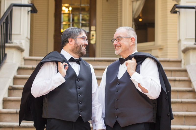 LGBT Sterling Hotel Wedding by Adrienne and Dani Photography