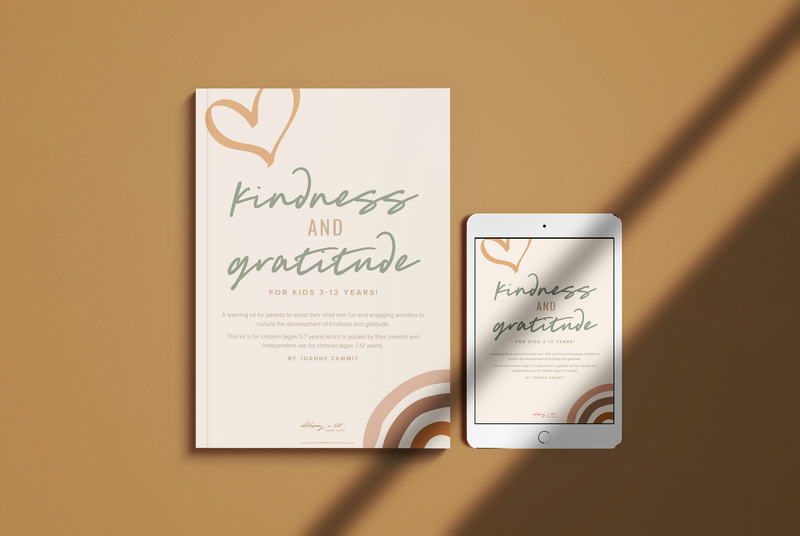 Story & Co - Kindness and Gratitude Kit - Front Cover Mock Up