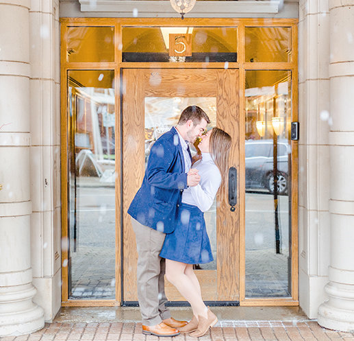 holland michigan engagement session