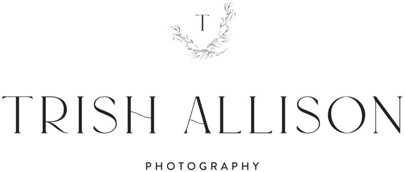 Trish Allison Photography - Custom Logo Design and Custom Showit Website Design by With Grace and Gold - 1