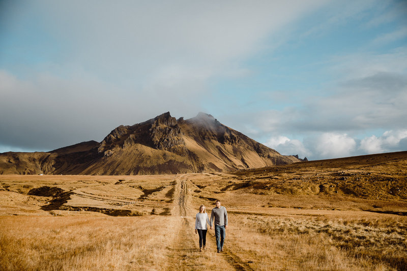 Adventure honeymoon photo in Iceland by Root and Blossom Photography