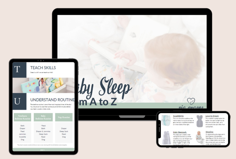 Learn All  About Your Baby's Sleep - Via Graces