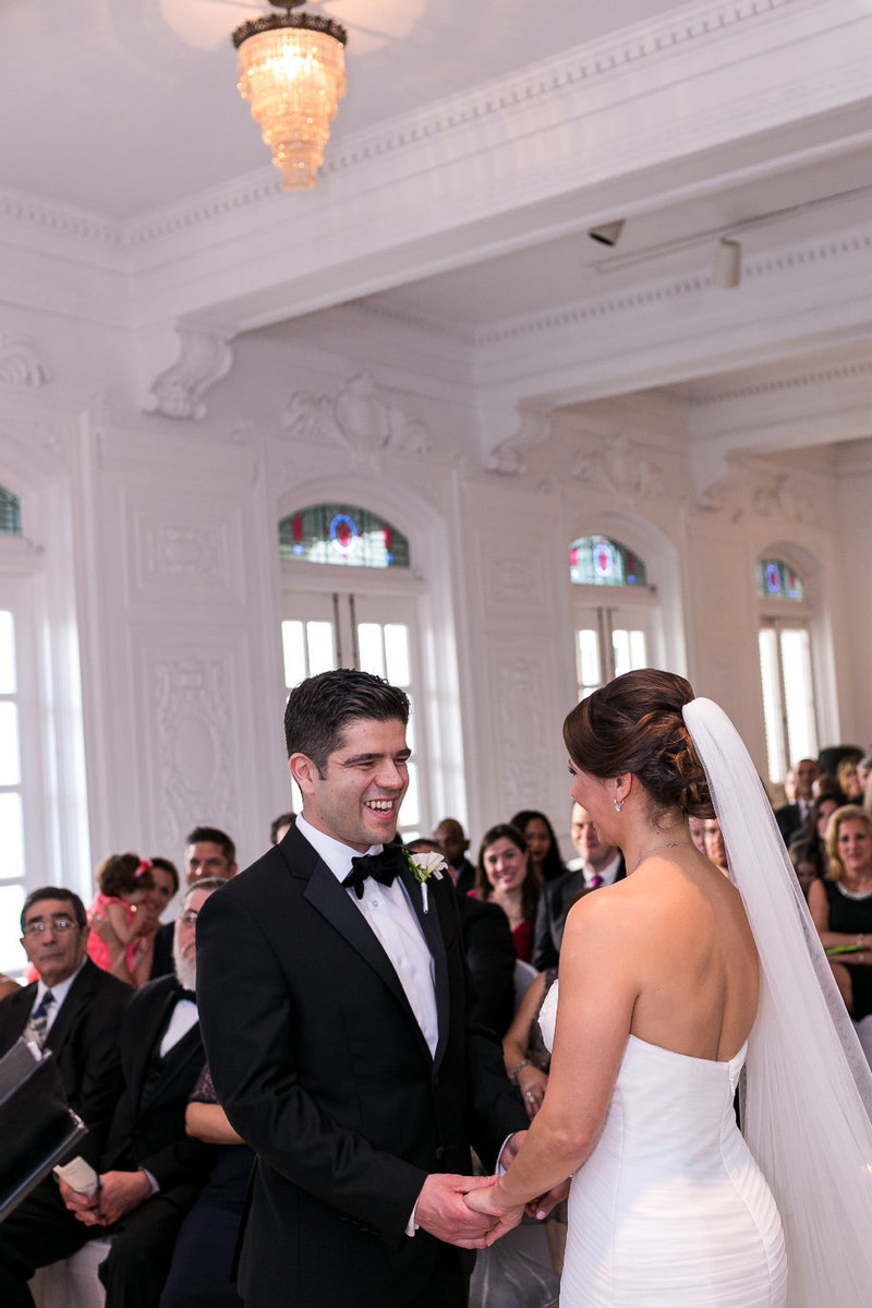 Destination Wedding Puerto Rico Ceremony at the Antiguo Casino de Puerto Rico