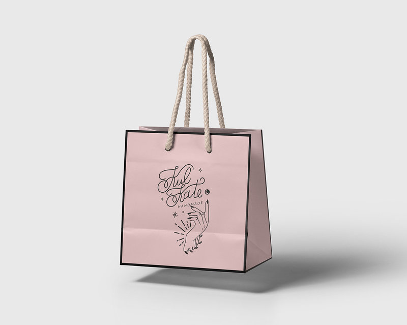 Kulkate Handmade Shopping Bag Mockup One6Creative