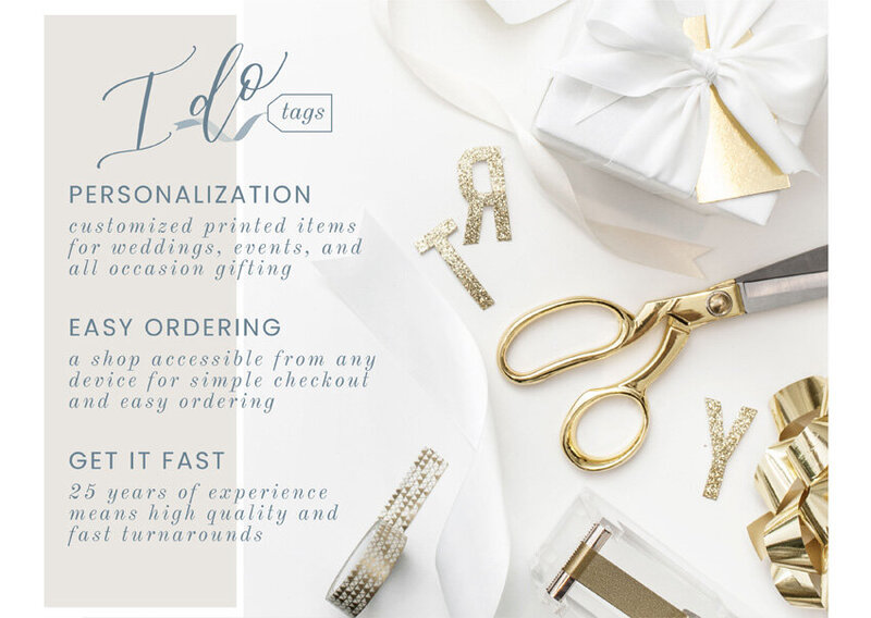 pirouettepaper.com | Logo Design + Branding | Pirouette Paper Company | I Do Tags Logo + Branding, Custom Gift Wrapping and Gift Tags 04