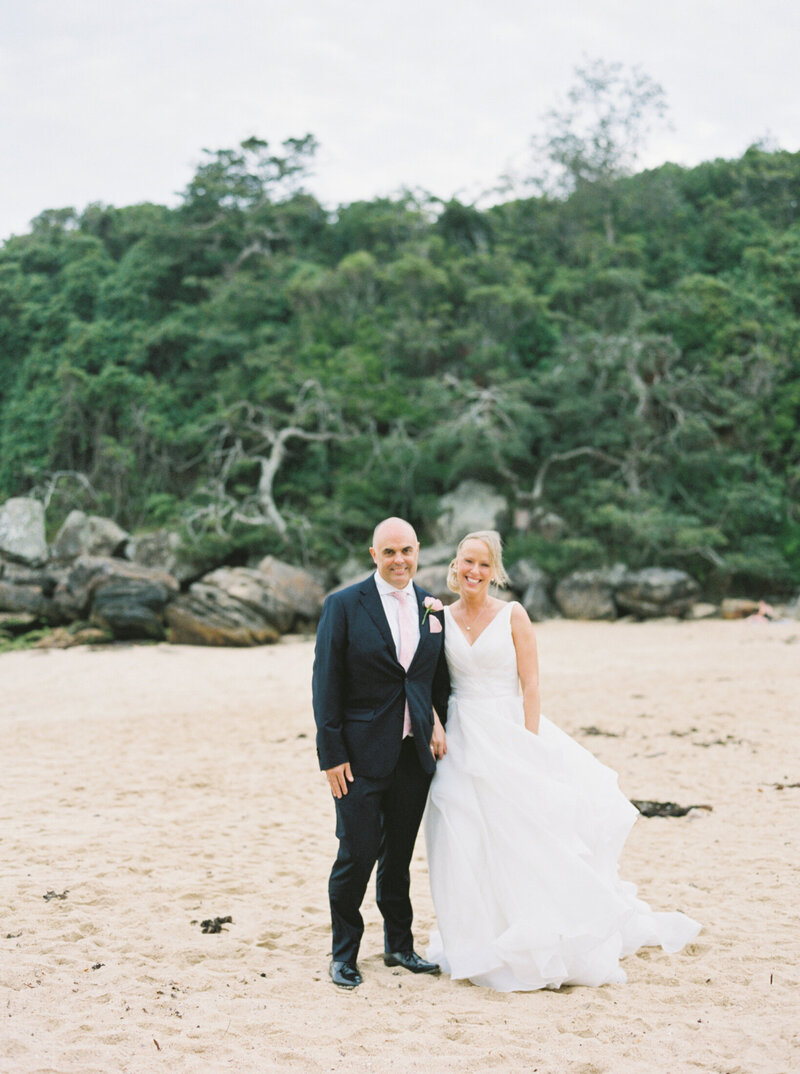 The Boathouse Shelly Beach, Manly Fine Art Film Elopement Wedding Photographer Sheri McMahon --00081