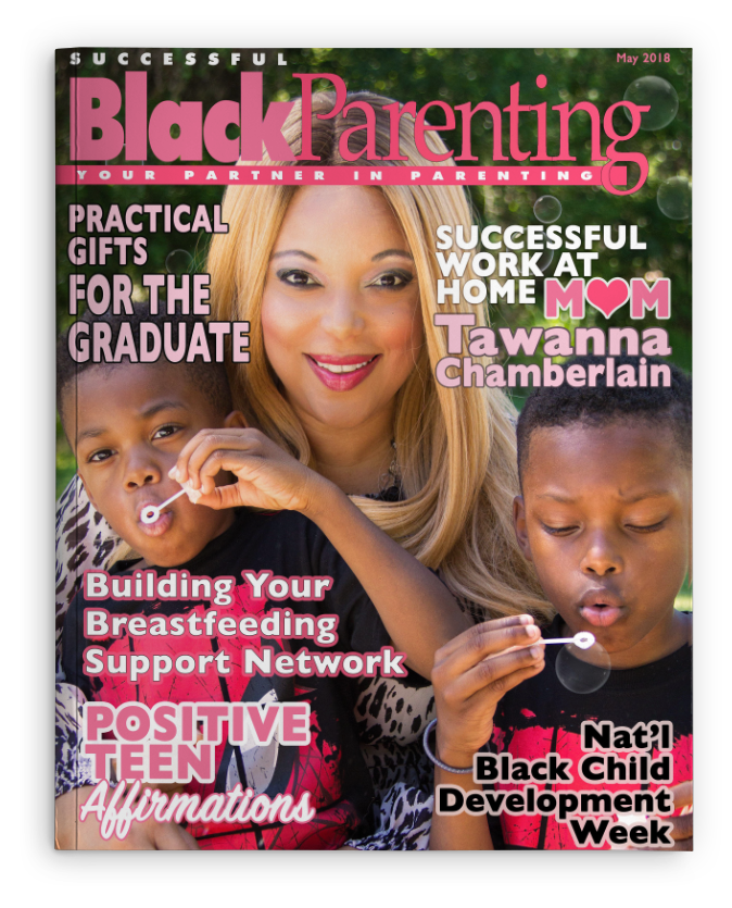 Successful Black Parenting - May 2018 Magazine Cover