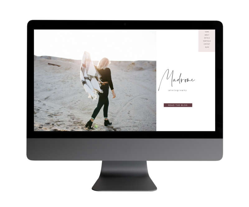 Madrone-Showit-Template-Holli-True-Designs