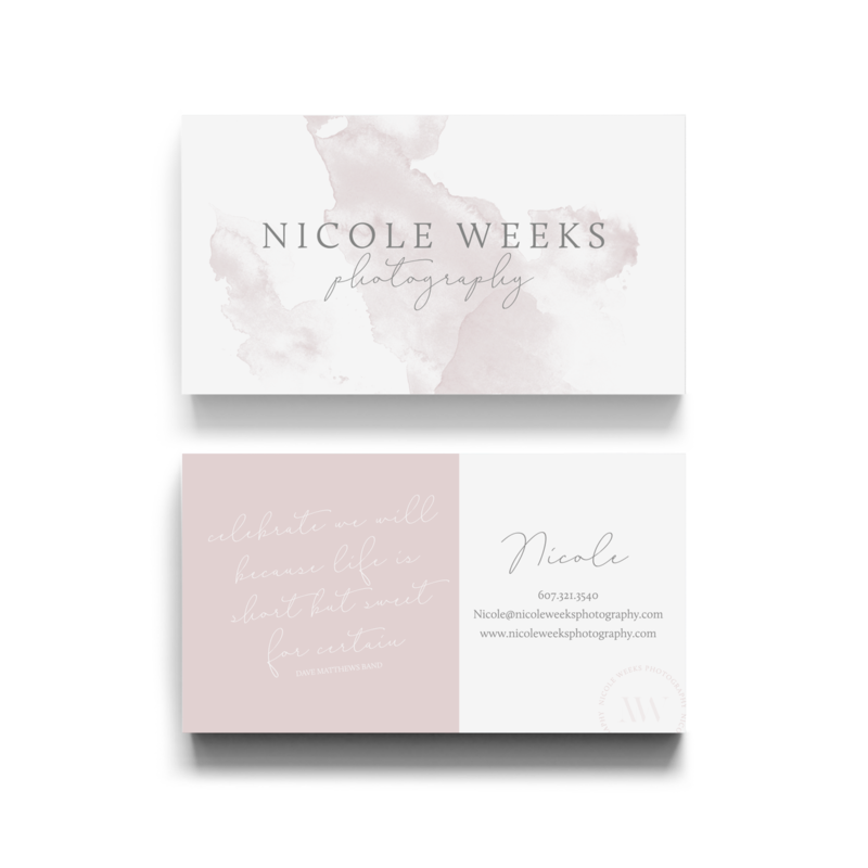 Alyssa Joy & Co. Brand & Web Designer for Creatives & Small Businesses || Nicole Weeks Photography