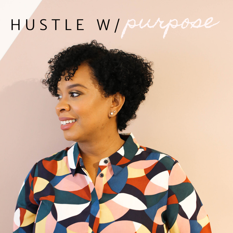 Hustle With Purpose Podcast_Artwork_Concept 1