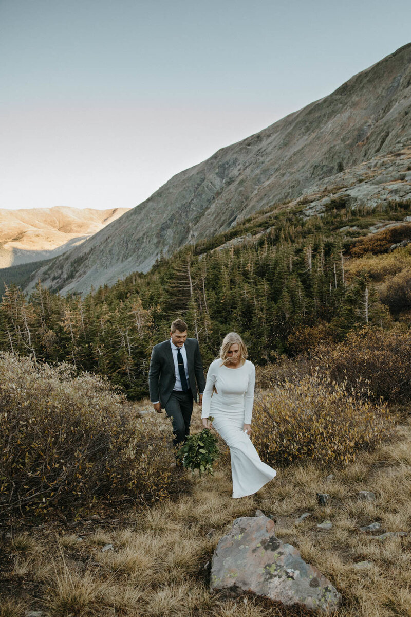 Audrey and Colton elopement wedding
