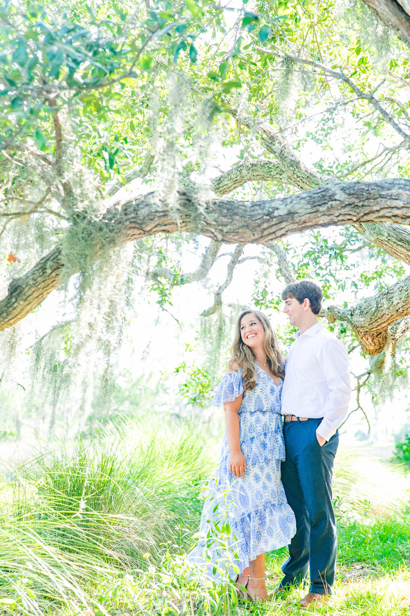 hilton head engagement session