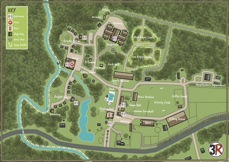 3R Camp Map