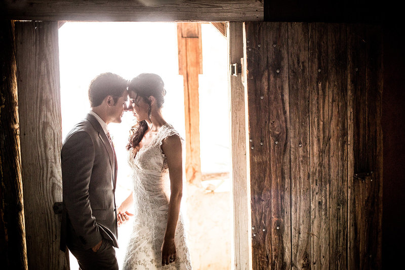 San Diego Destination wedding photos rustic barn