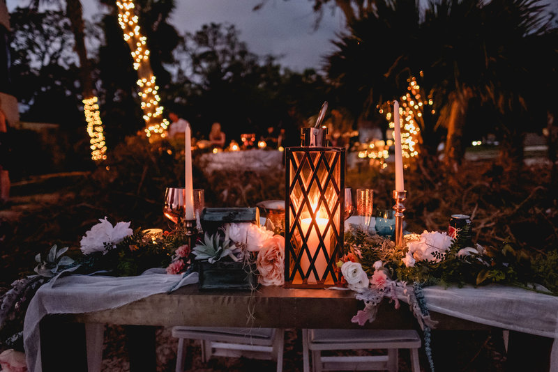 St Simons Island Wedding Decor