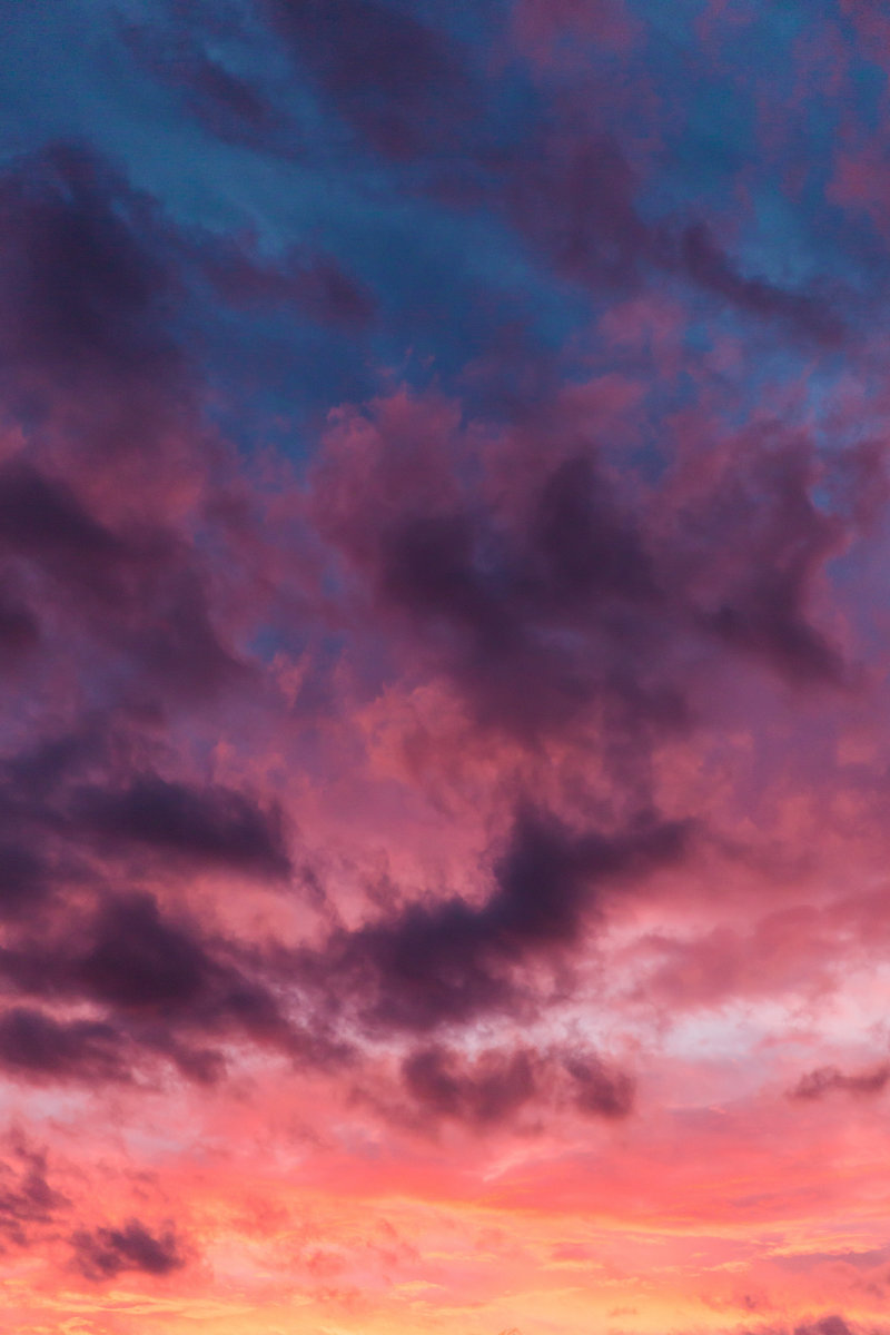 Colorful Sunset Sky
