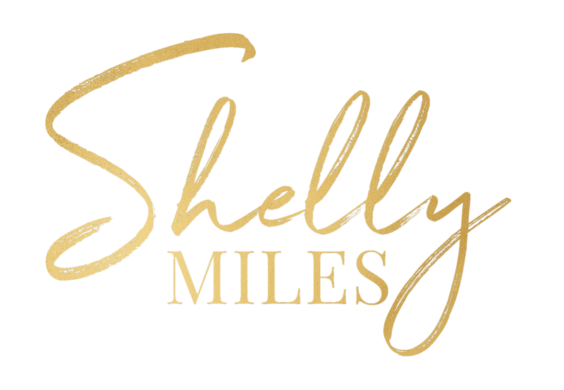 shelly miles logo gold