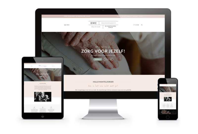 She factory nieuwe website de mantelzorgcoach