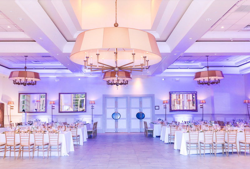 reception room  at Stone House at Stirling Ridge Maryland Wedding by  Costola Photography