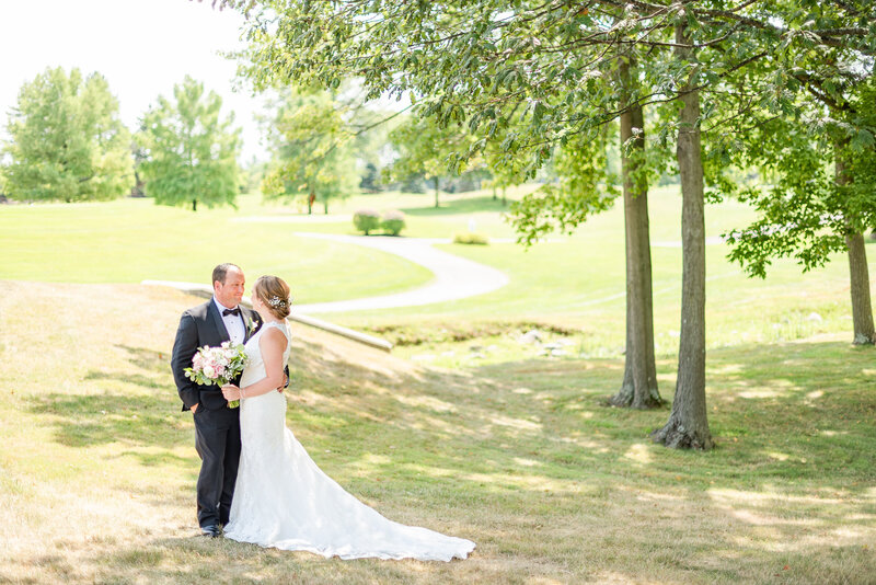 Ohio Wedding Photographer, married couple