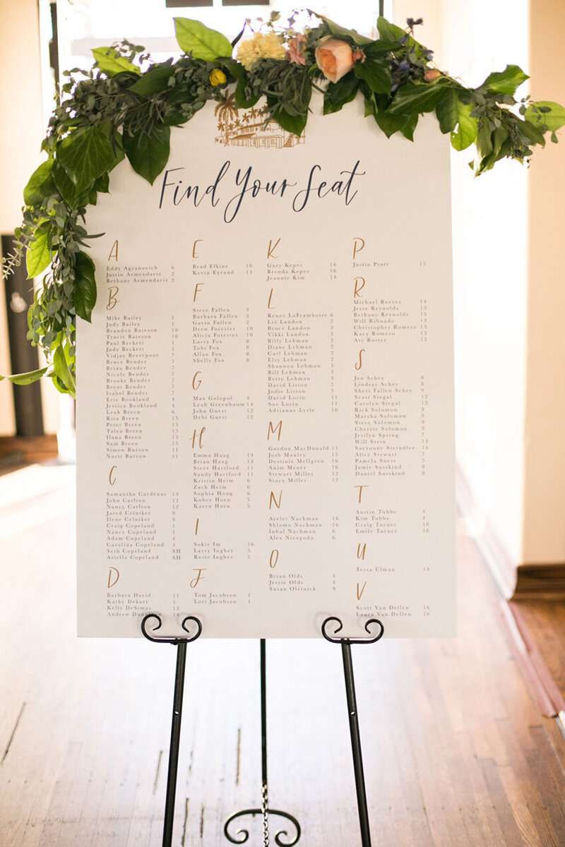 pirouettepaper.com | Wedding Stationery, Signage and Invitations | Pirouette Paper Company | Seating Charts 81