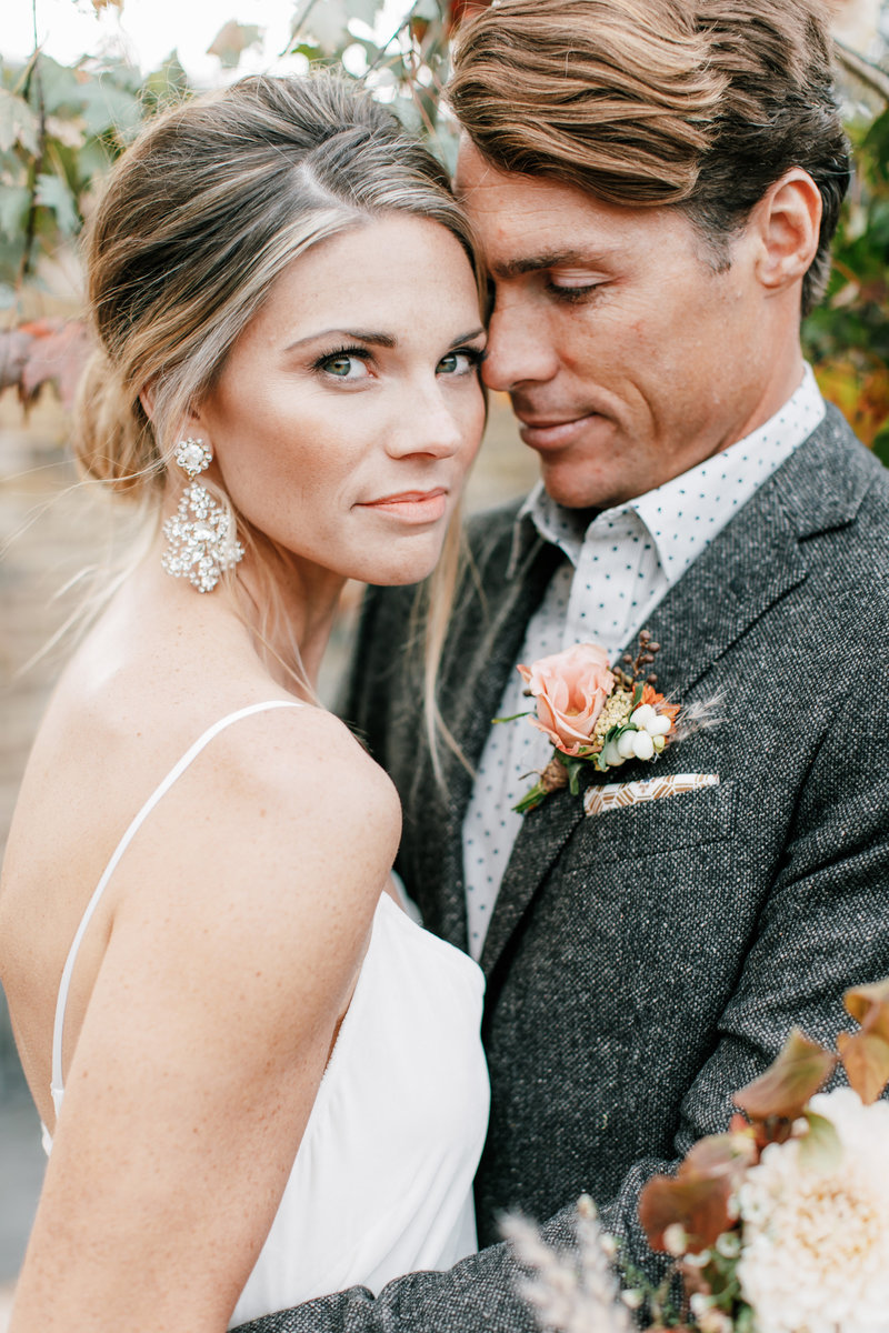 Magdalena Studios Bohemian Stylish and Chic Fall Wedding at Terrain Anthropologie_50