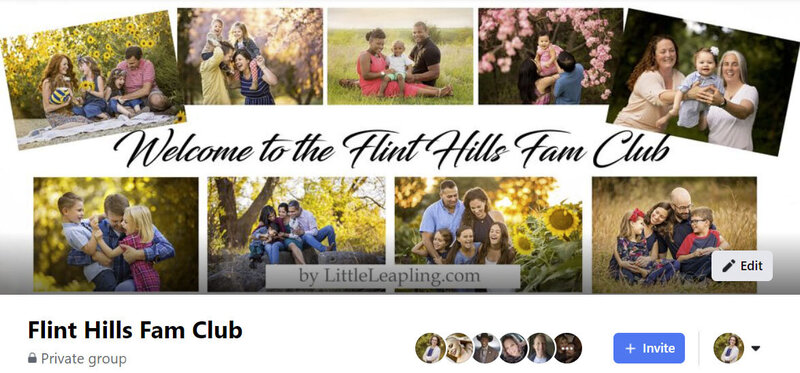 Join the Flint Hills Fam Club on Facebook.