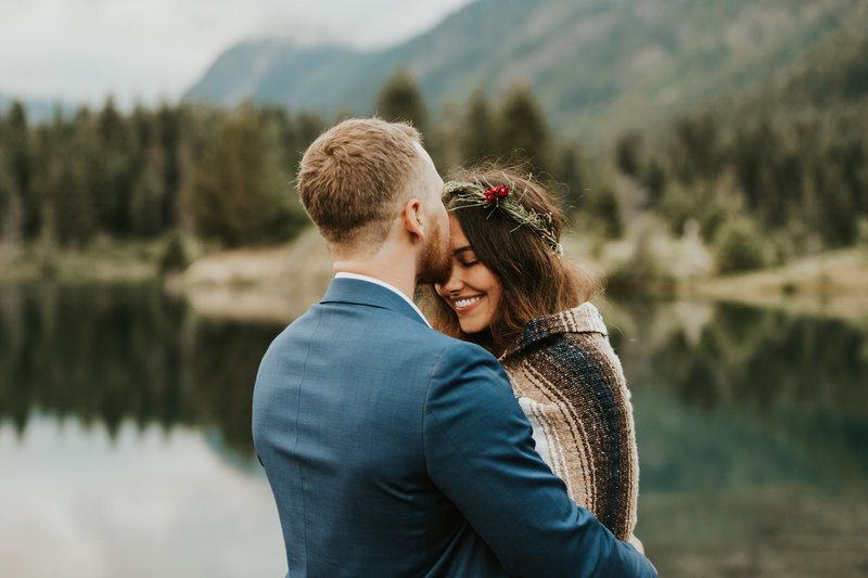 Bohemian Nature Wedding Adventure Elopement