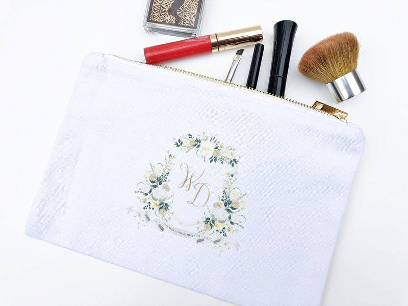 watercolor-crest-makeup-bag