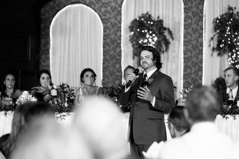 best man speech at wedding reception