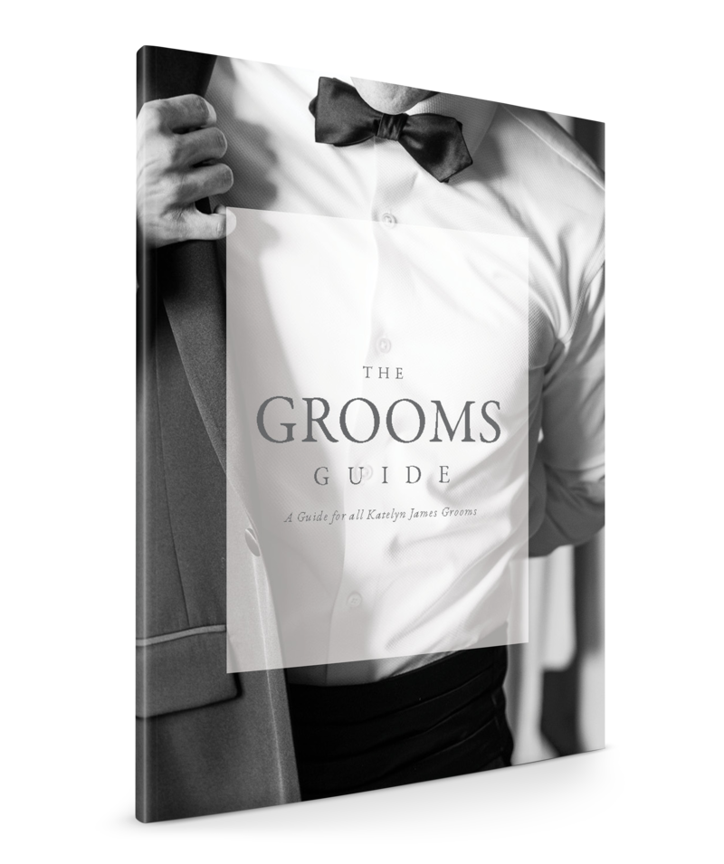 Groom's Guide Booklet