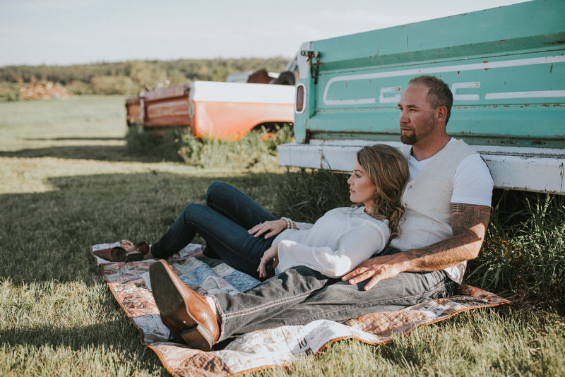 Red Deer Photographers-Raelene Schulmeister Photography- engagement photos-vintage truck photos-what to wear for my engagement photos