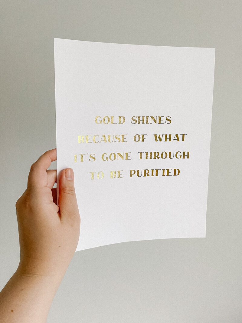 Gold Shines