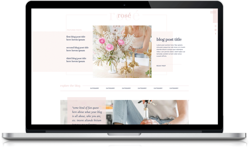 Rosé_Showit-Blog-Template