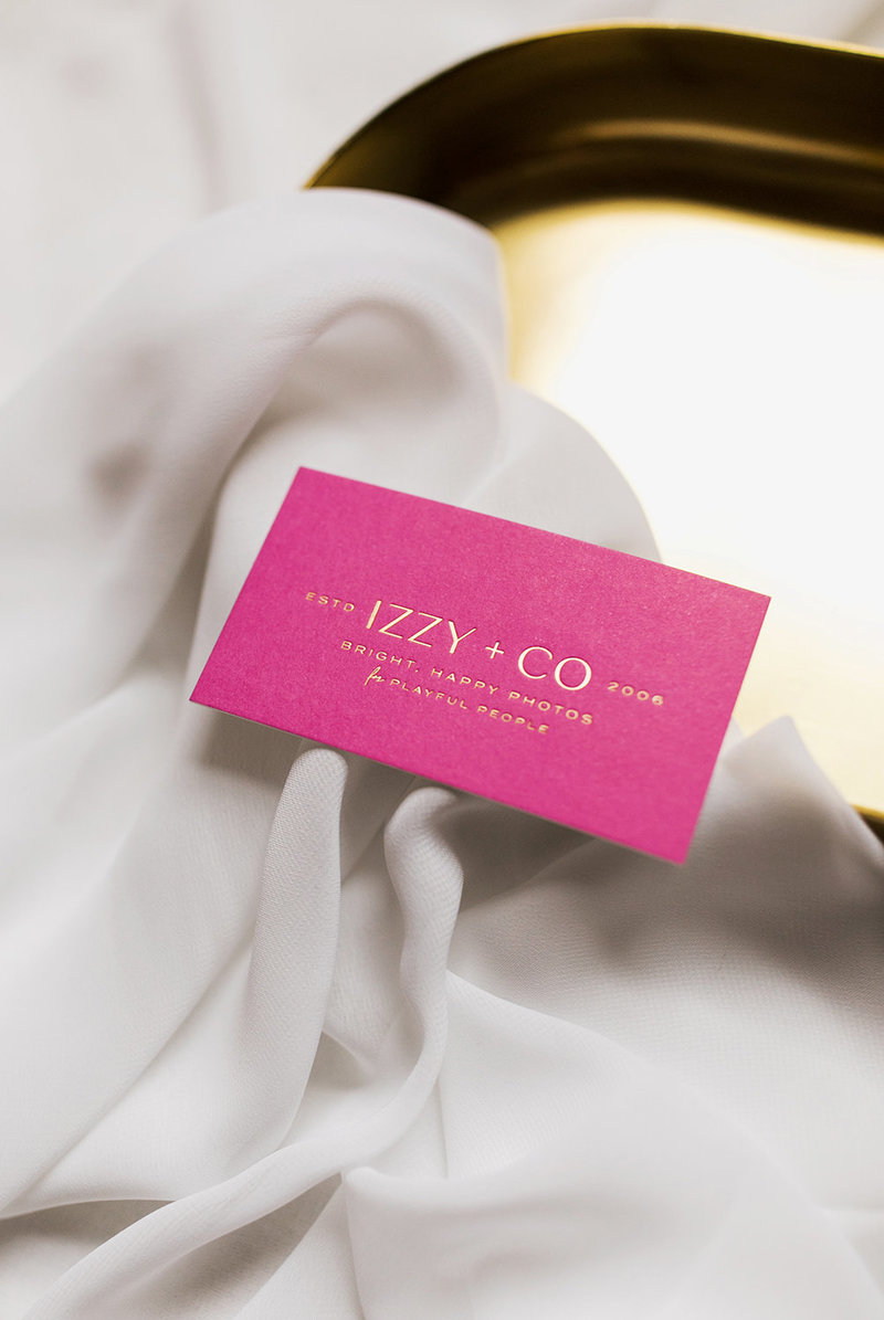 Izzy + Co Branding by Rhema Design Co