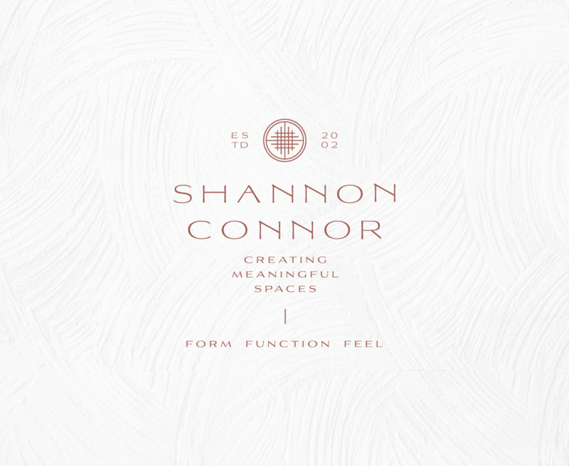Primary logo for Shannon Connor, and Interiord Designer for Ultra High Net Worth Individuals